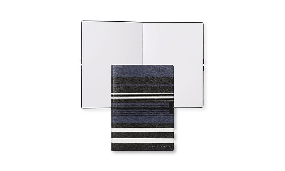 Блокнот Hugo Boss Блокнот A6 Storyline в геометрическую полоску  HNM908N