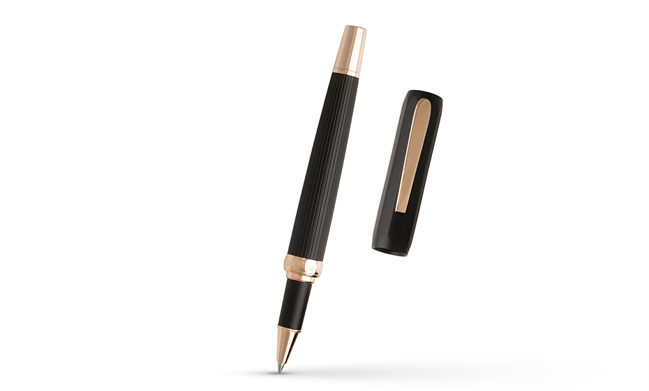 Чернильная ручка Hugo Boss Ручка чернильная Grace алюминий/позолота  HSV9965E