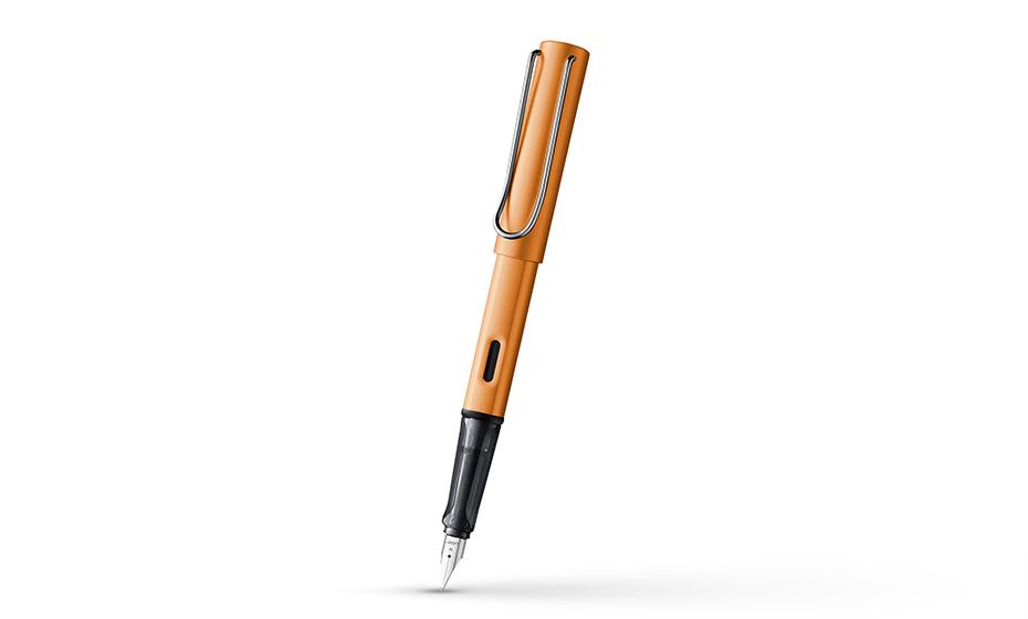 Перьевая ручка Lamy анодированный алюминий, зона захвата - полупрозрач  4033451 4033451