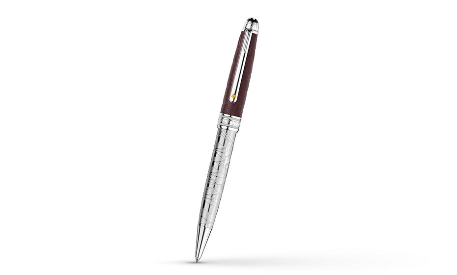 Шариковая ручка Montblanc Ручка шариковая металл/кожа  119686