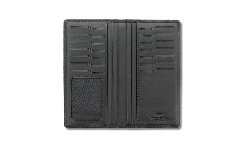 Кошелек Braun Buffel Натуральная кожа, гладкая фактура, 9 х 17 х 1,5 см  90445-10