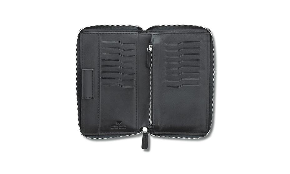 Бумажник Braun Buffel Натуральная кожа, гладкая фактура, на молнии, 17, 90469-10
