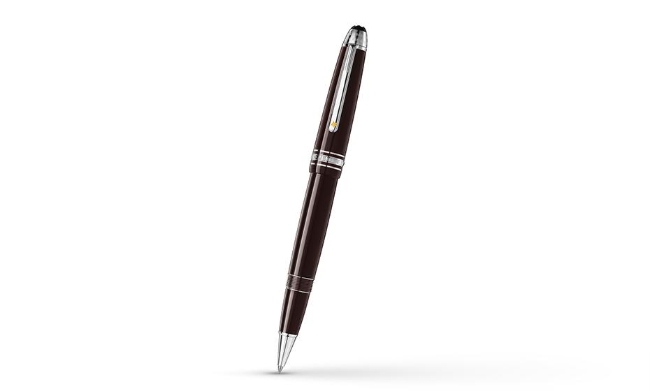 Чернильная ручка Montblanc драгоценная смола, съемный колпачек  119661