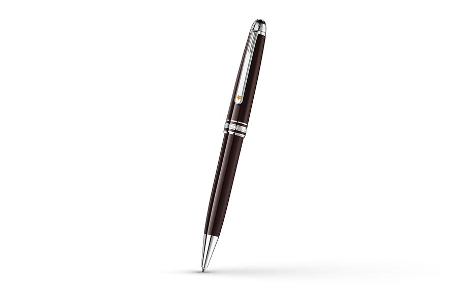 Шариковая ручка Montblanc драгоценная смола, поворотный механизм  119667