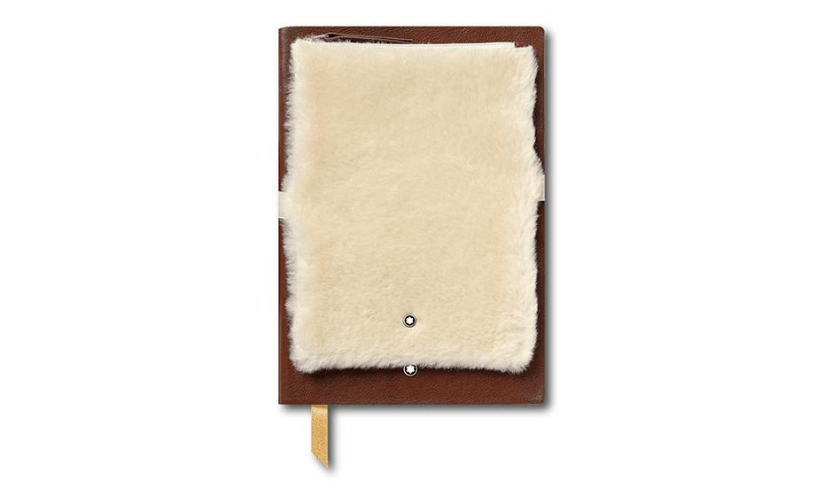 Блокнот Montblanc кожа, линованная бумага, 96 листов, 150 x 210 мм  119485
