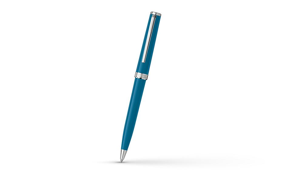Шариковая ручка Montblanc Драгоценная смола, детали отделки с платиновым нап  119351