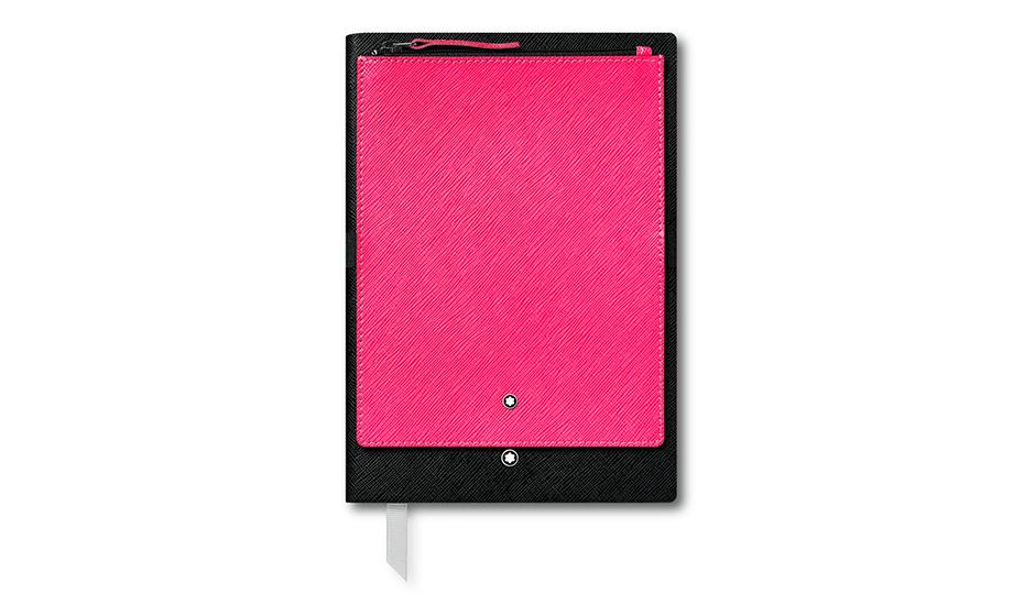 Блокнот Montblanc Кожа с тиснением Saffiano, эластичный ремешок, лин  119460 119460