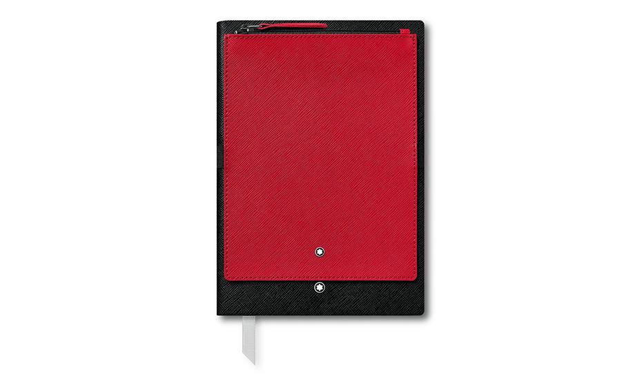 Блокнот Montblanc Съемное отжделение из кожи  с тиснением Saffiano,  119461 119461