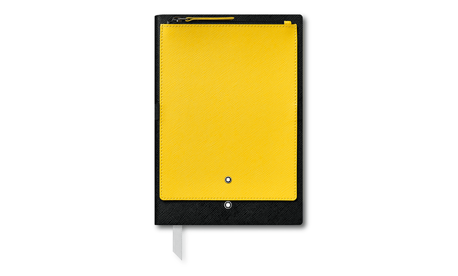 Блокнот Montblanc Съемное отделение из кожи с тиснением Saffiano, эл  119483