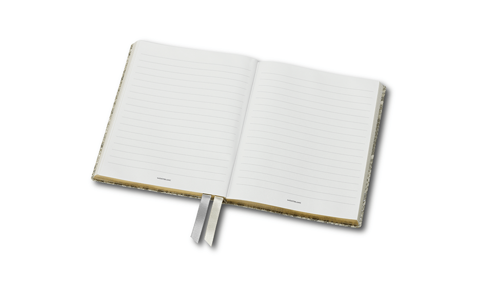 Блокнот Montblanc кожа теленка с тиснением, бумага с золотыми уголка  119518