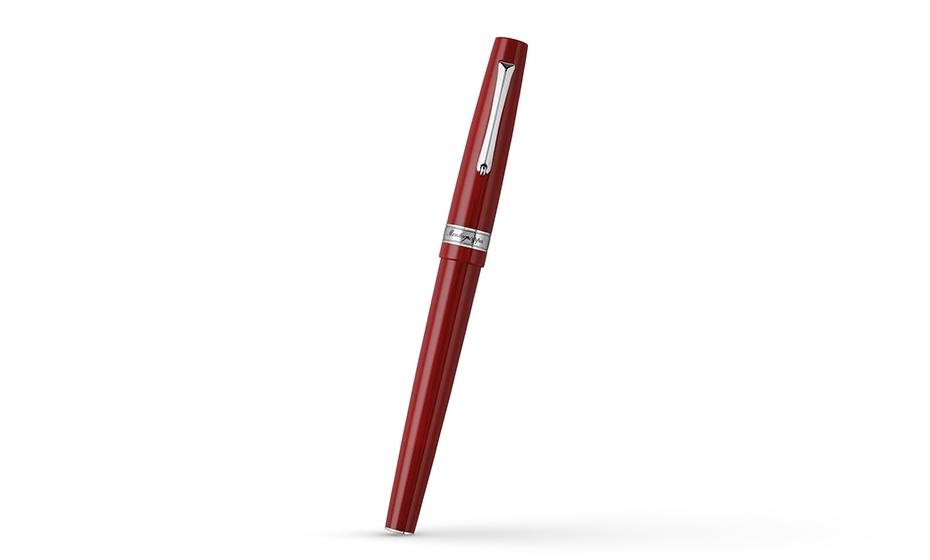 Перьевая ручка Montegrappa акриловая смола, нержавеющая сталь, съемный колпач  HARMONY-BRD-FP-1