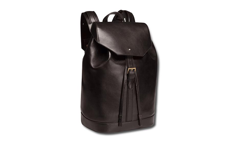 Рюкзак Montblanc натуральная воловья кожа, подкладка из хлопка, мет  116814