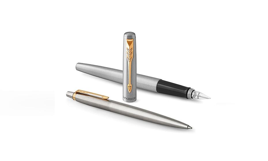 Набор Parker набор из перьевой и шариковой ручки, нержавеющая с  2093257