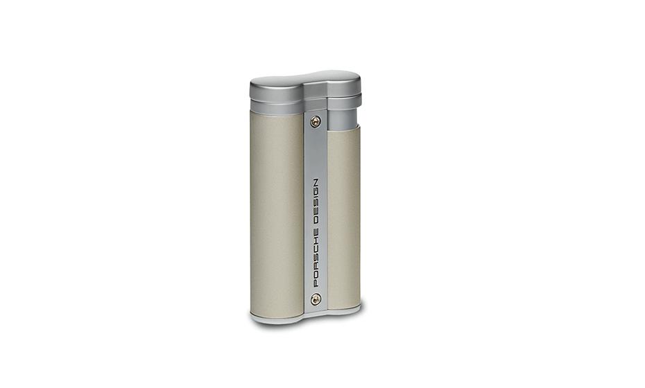 Зажигалка Porsche Design металл, тип пламени турбо, 1 турбина, тип поджига  P363304