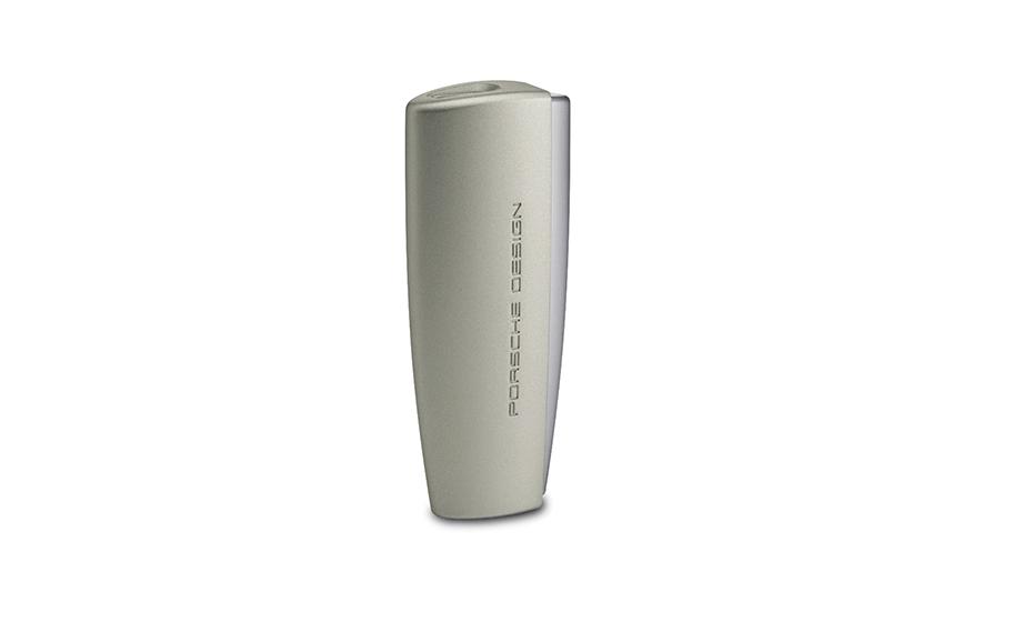Зажигалка Porsche Design металл, пластик, тип пламени турбо, 1 турбина, тип  P364504