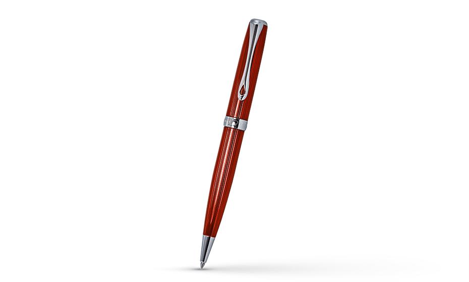 Шариковая ручка Diplomat металл с гравировкой гильош, отделка - лак, механи  D40216040 D40216040