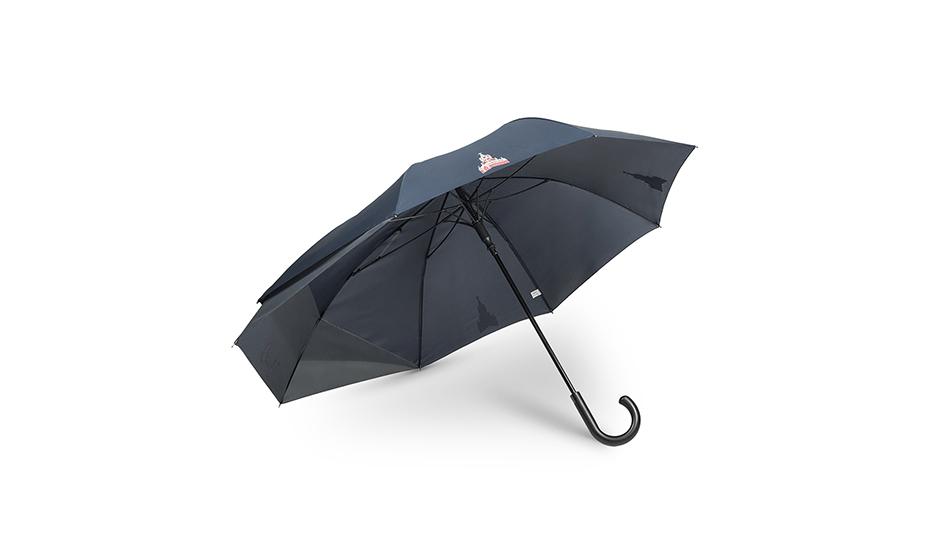 Зонт Gourji зонт трость, полуавтомат, длина 88 см, диаметр куп  ZT02BLGRSPBA ZT02BLGRSPBA