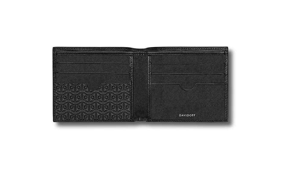 Бумажник Davidoff натуральная телячья кожа, без застежки, тиснение,  D22861 D22861