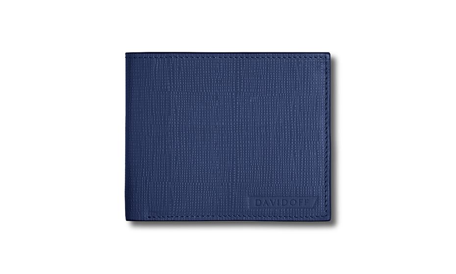 Бумажник Davidoff натуральная телячья кожа, лак, тиснение, без засте  D23171