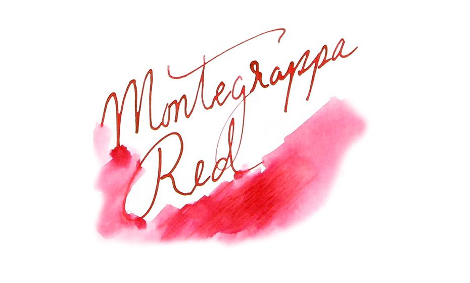 Чернила Montegrappa Montegrappa, красные, 50 мл  IA01BZIR