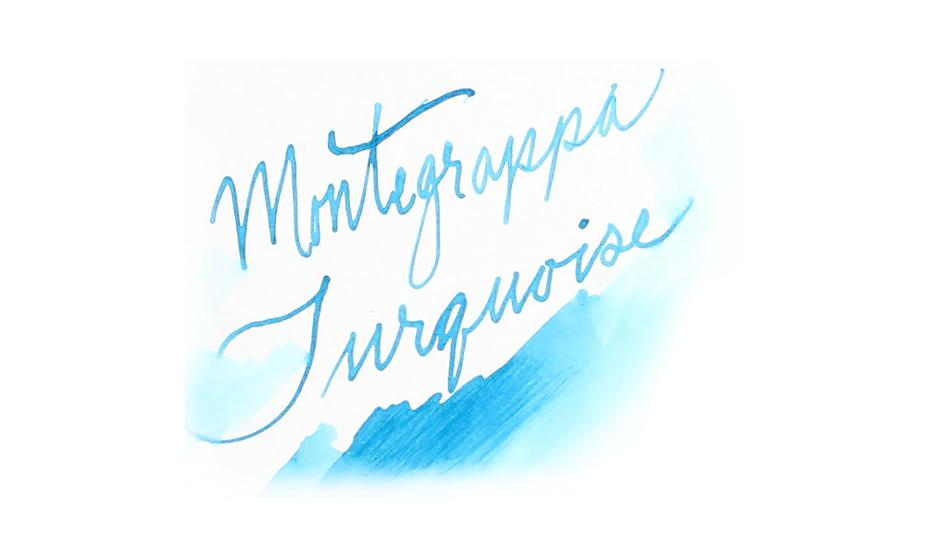 Чернила Montegrappa Montegrappa, бирюзовые 50 мл  IA01BZIT