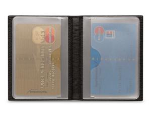 Чехол для кредитных карт Montblanc 4810 Westside, кожа, жаккард, 8 х 10 см  38061