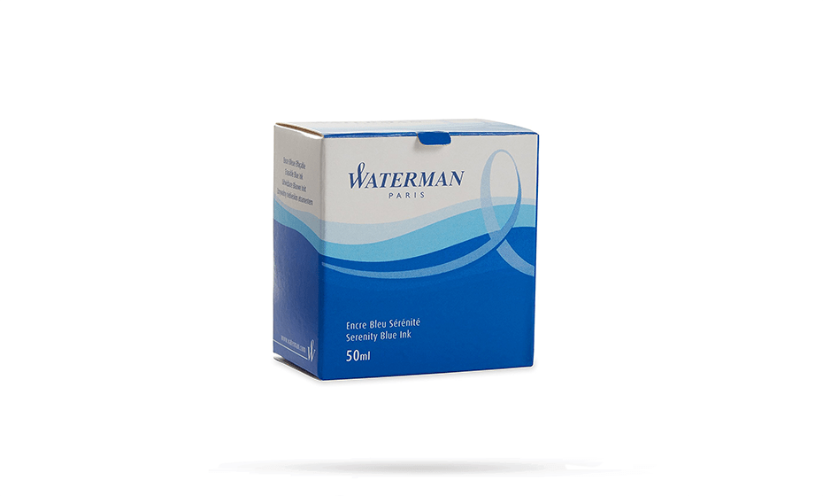 Чернила Waterman Waterman, флакон с чернилами для перьевой ручки, ц  S0110720 3034325106298