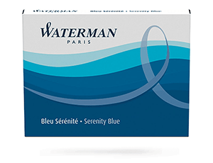 Картриджи Waterman Waterman Ink cartridge Standard Blue, чернила в ка  S0110860