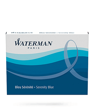 Картриджи Waterman Waterman Ink cartridge Standard Blue, чернила в ка  S0110860
