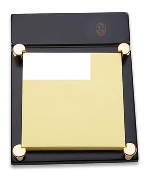 Подставка под бумагу для замет El Casco El Casco, под бумагу для заметок, позолота, черне  M671LN