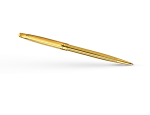 Шариковая ручка Caran d'Ache Madison 2 Cisele gold plated, позолота  4680-282