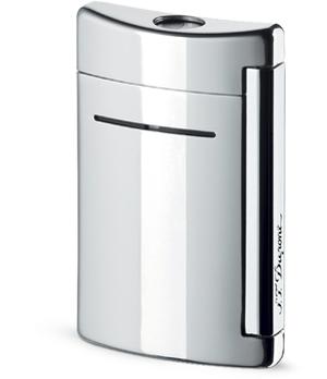Зажигалка S.T. Dupont Minijet, мини, серебристая  10020