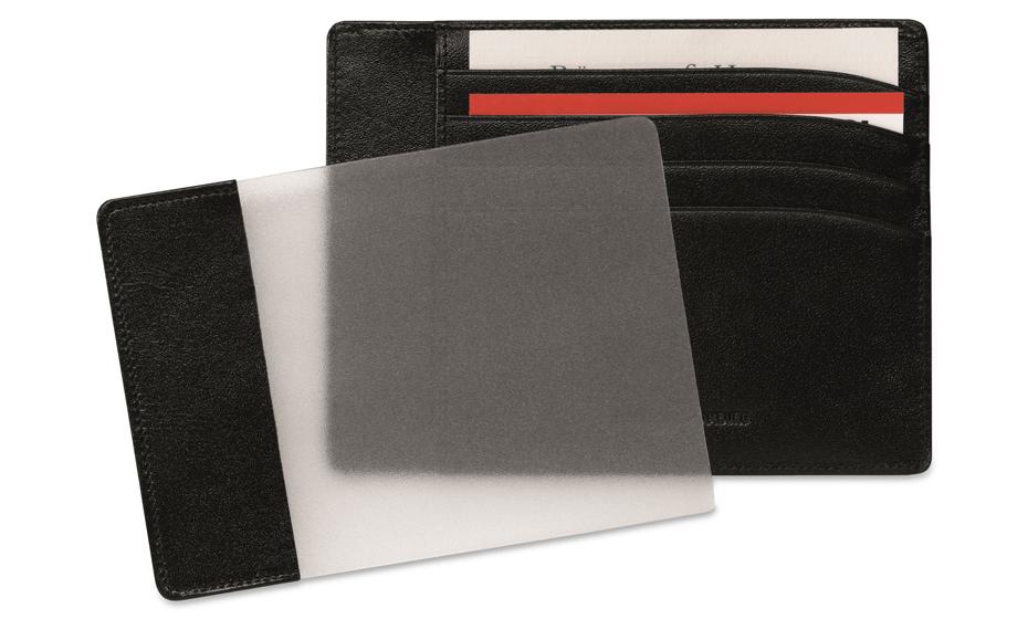 Чехол для кредитных карт Montblanc Meisterstuck, 4 сс, с отделением для удостоверения  2665