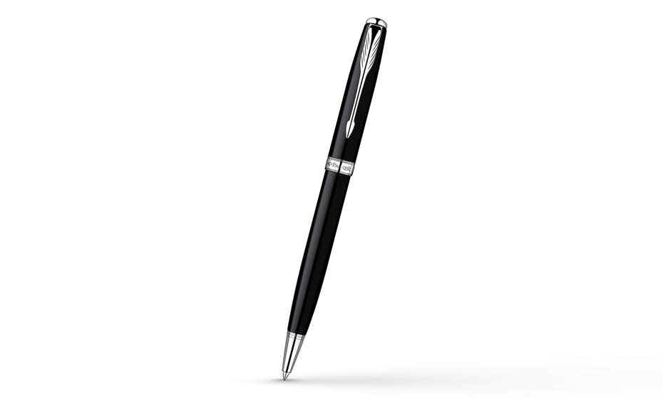 Шариковая ручка Parker Sonnet Laque Black СT, черный лак, никеле-палладие  R0808770