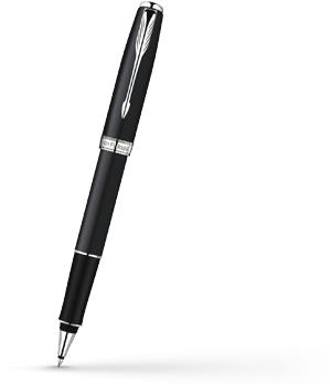 Чернильная ручка Parker Sonnet Matte Black CT, матовый лак, никеле-паллади  R0818100