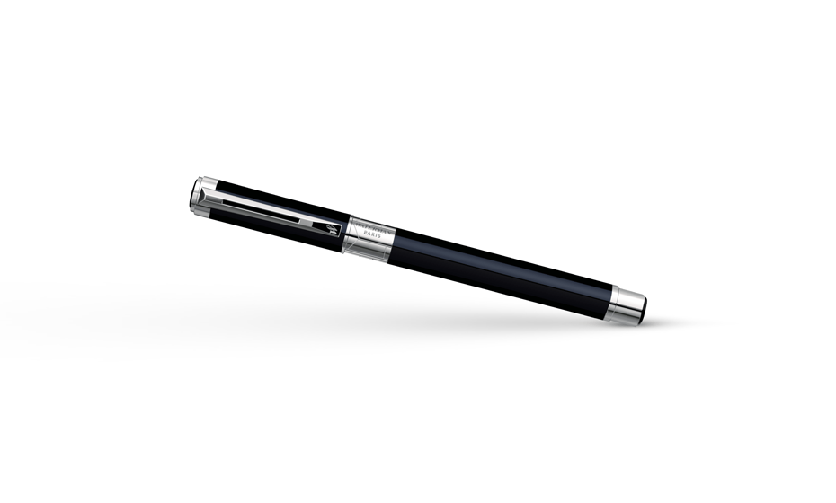 Чернильная ручка Waterman Perspective Black CT, лак, палладий  S0830720 3501170830727