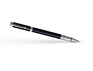 Чернильная ручка Waterman Perspective Black CT, лак, палладий  S0830720