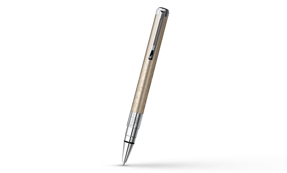 Шариковая ручка Waterman Perspective Champagne CT, лак, палладий  S0831440