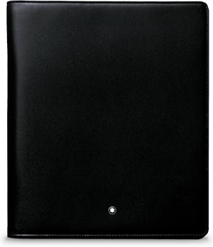Блокнот Montblanc А5 черный кожа  103386