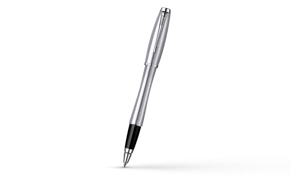 Чернильная ручка Parker Urban Metro Metallic корпус из нержавеющей стали с отделкой хромом, арт. R0836780