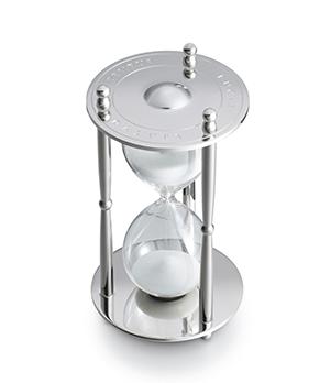 Песочные часы Dalvey «Tempus fugit» Dalvey, сталь, стекло  779