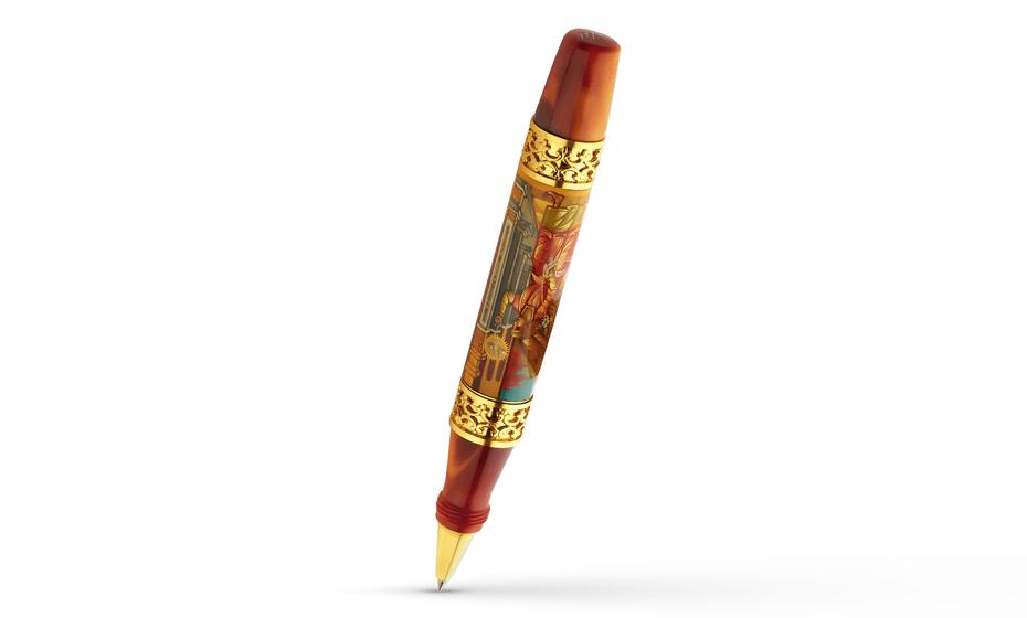 Чернильная ручка Ancora Luca Signorelli (Лука Синьорелли), акриловая смола  LUKA RB
