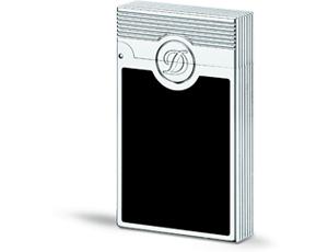 Зажигалка для сигар S.T. Dupont L2 Torch, черная, лак, палладий  23001