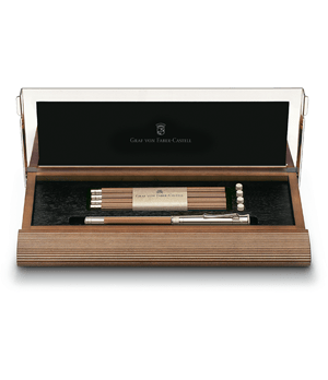 Набор карандашей Graf von Faber-Castell 5 карандашей, ластики, удлиняющий колпачок, точилк  118517