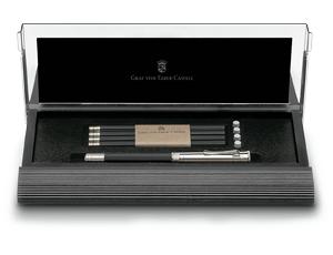 Набор карандашей Graf von Faber-Castell 5 карандашей, ластики, удлиняющий колпачок, точилк  118518