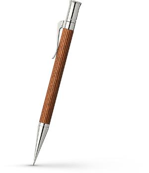 Карандаш Graf von Faber-Castell Classic Pernambuco, пернамбук, платина  135530