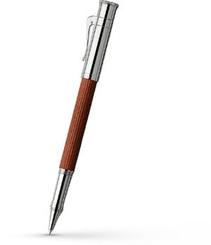 Чернильная ручка Graf von Faber-Castell Classic Pernembuco, пернамбук, металлический колпа  145510