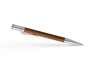 Шариковая ручка Pernambuc Graf von Faber-Castell Classic Pernembuco, пернамбук, платина  145530