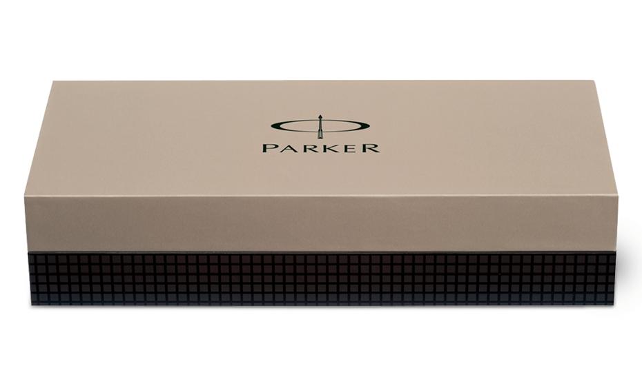 Чернильная ручка Parker IM Premium Twin Chiselled корпус с покрытием пушечная сталь и отделкой хромом, арт. S0908600