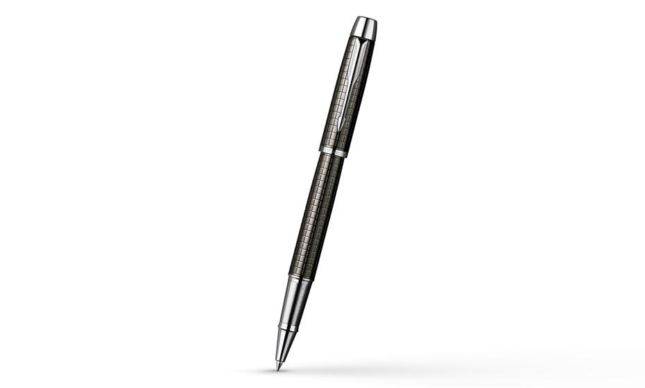 Чернильная ручка Parker IM Premium Deep Grey Gun Metal, покрытие
